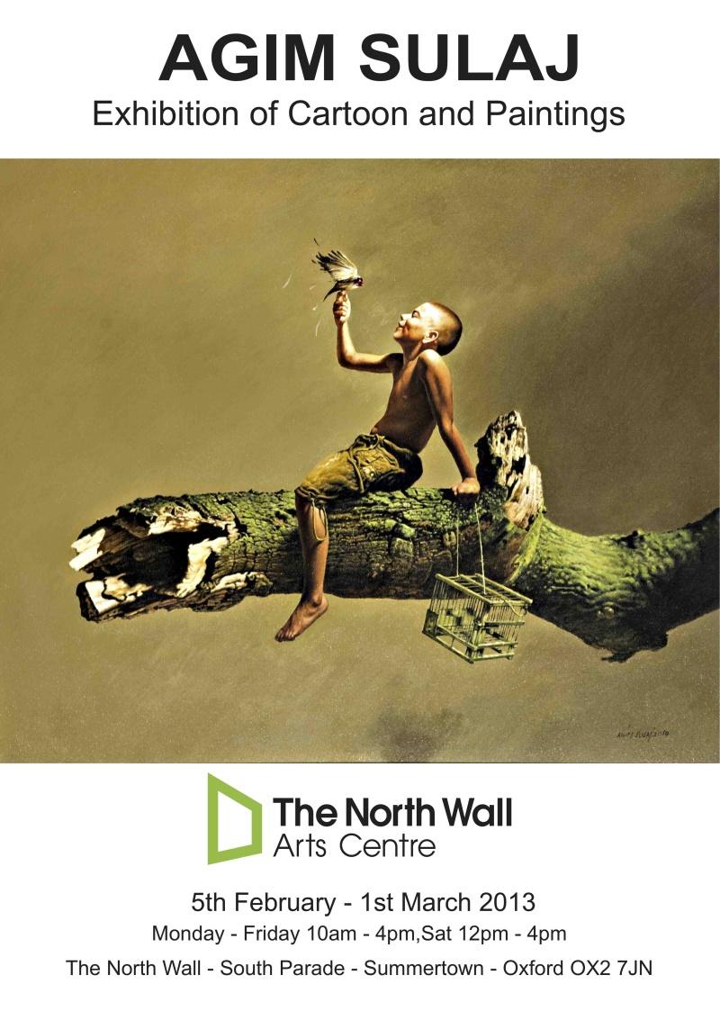 Oxford art exhibition – The North Wall – Agim Sulaj   Mission ...